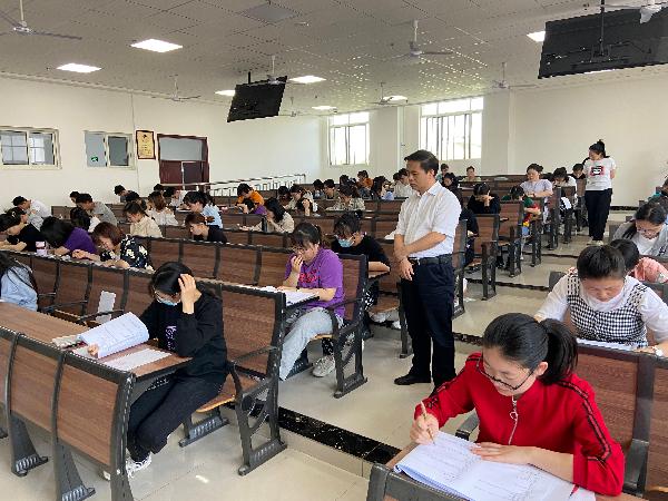 中医系组织2021年学生学业水平分阶段测试